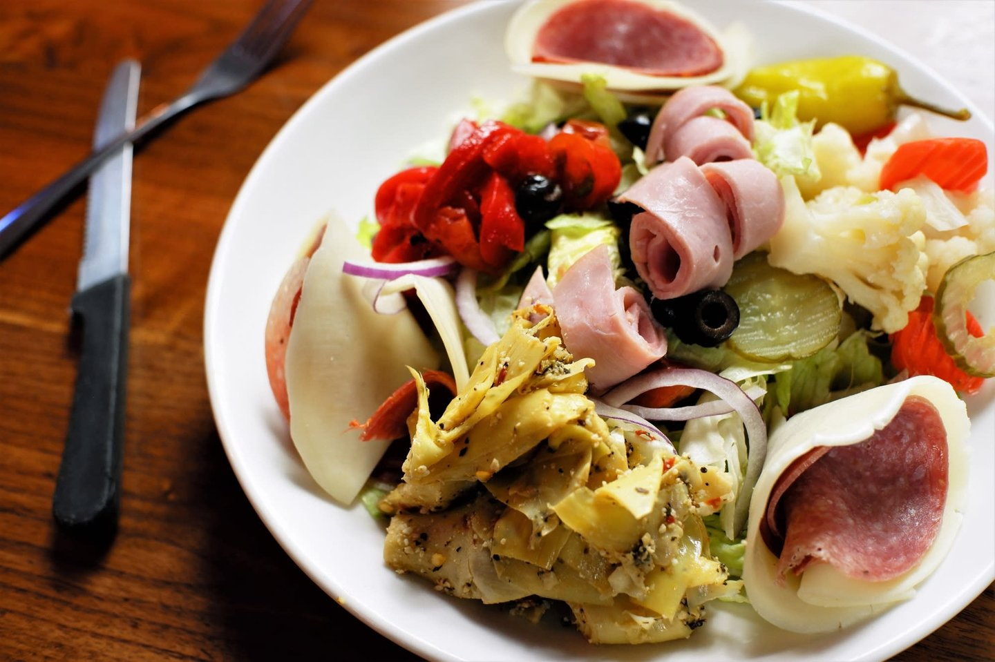cold antipasto salad