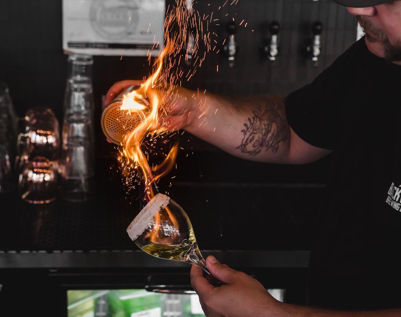 smoke and fire coffee