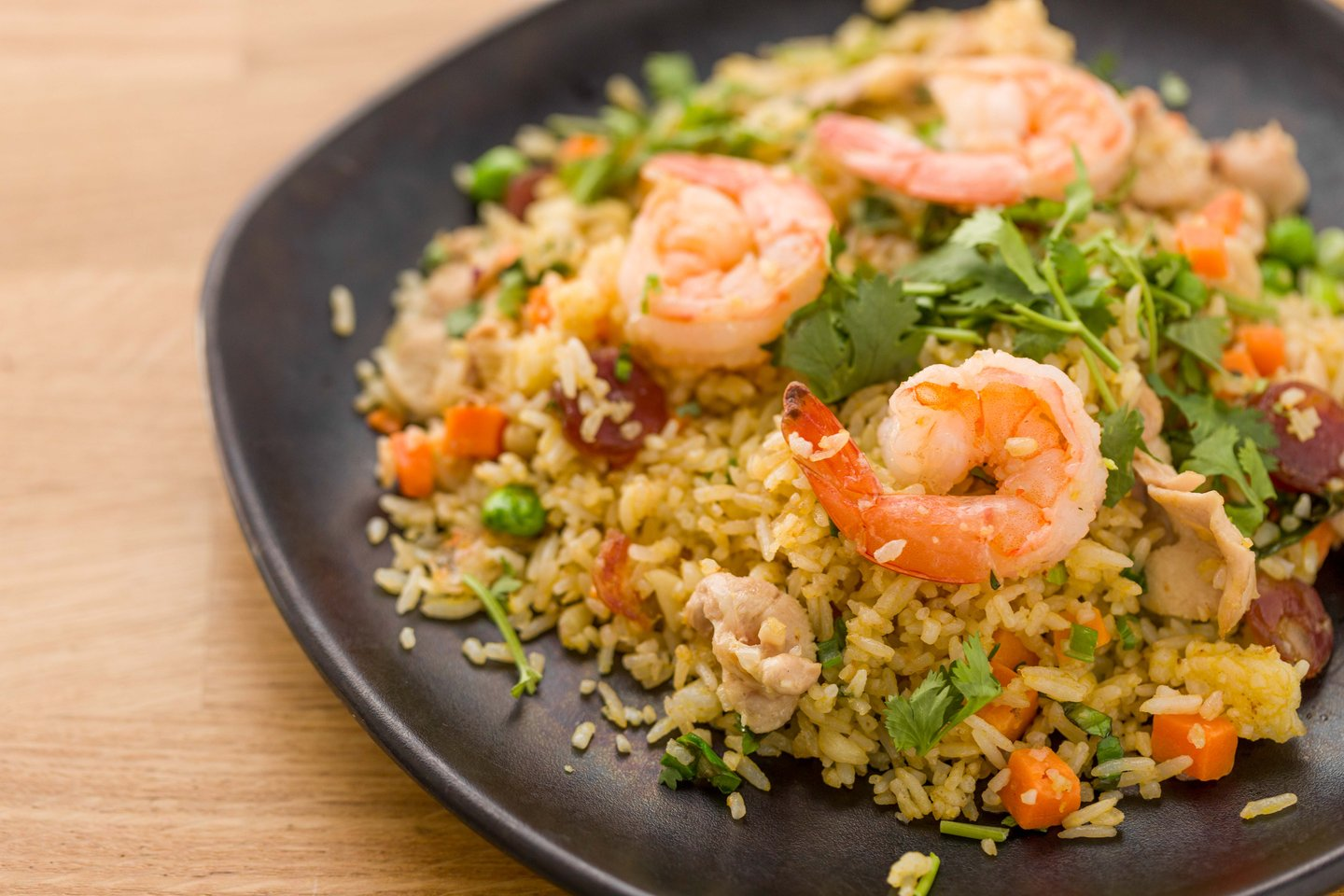 combination fried rice