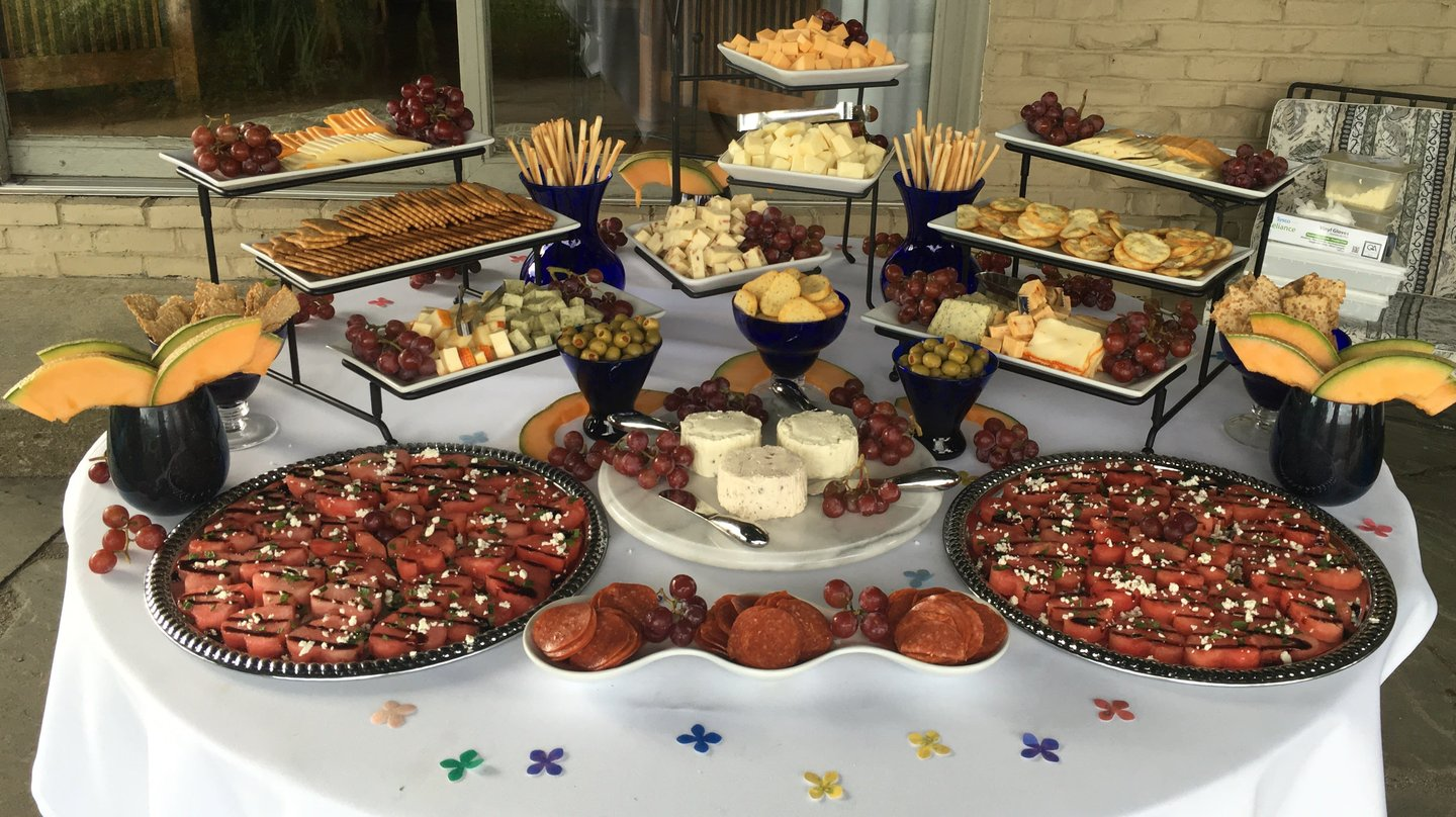 cheese spread catering