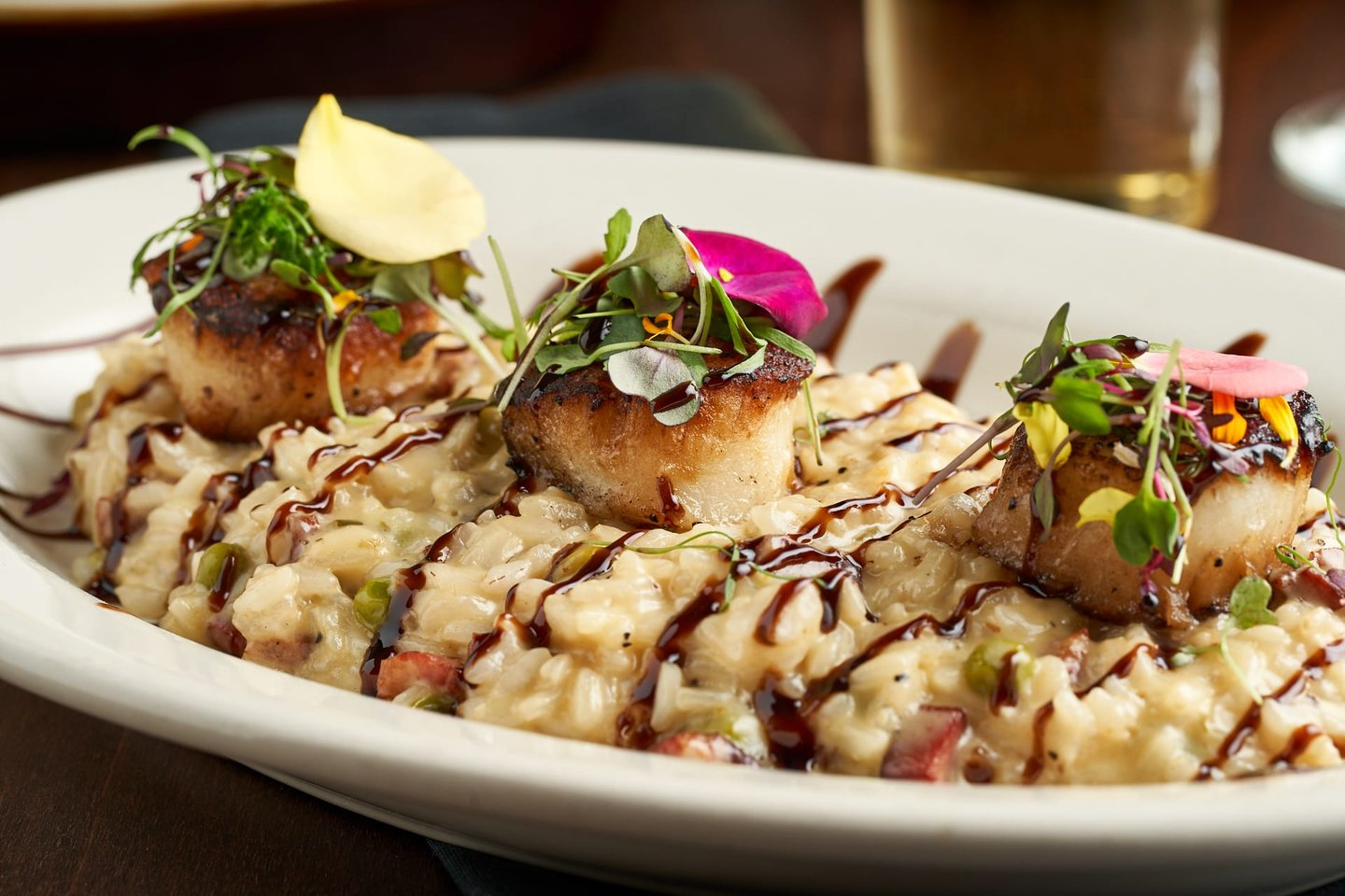 Seared Scallop Risotto