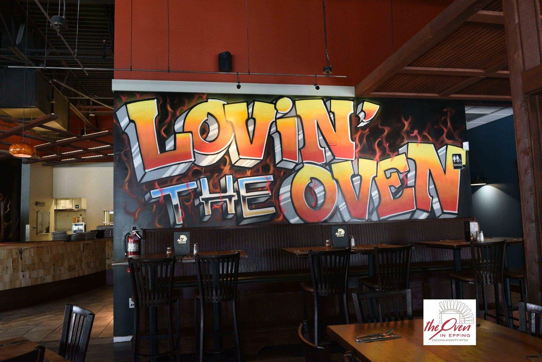 lovin the oven art