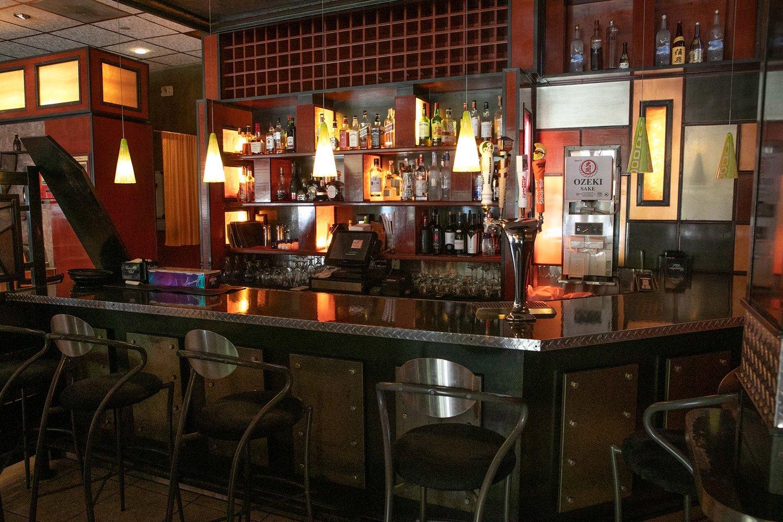 The bar at Tengda - Contact Us