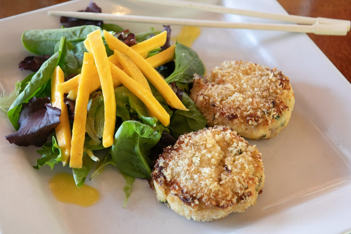 Tengda Asian Bistro Thai Crab Cakes