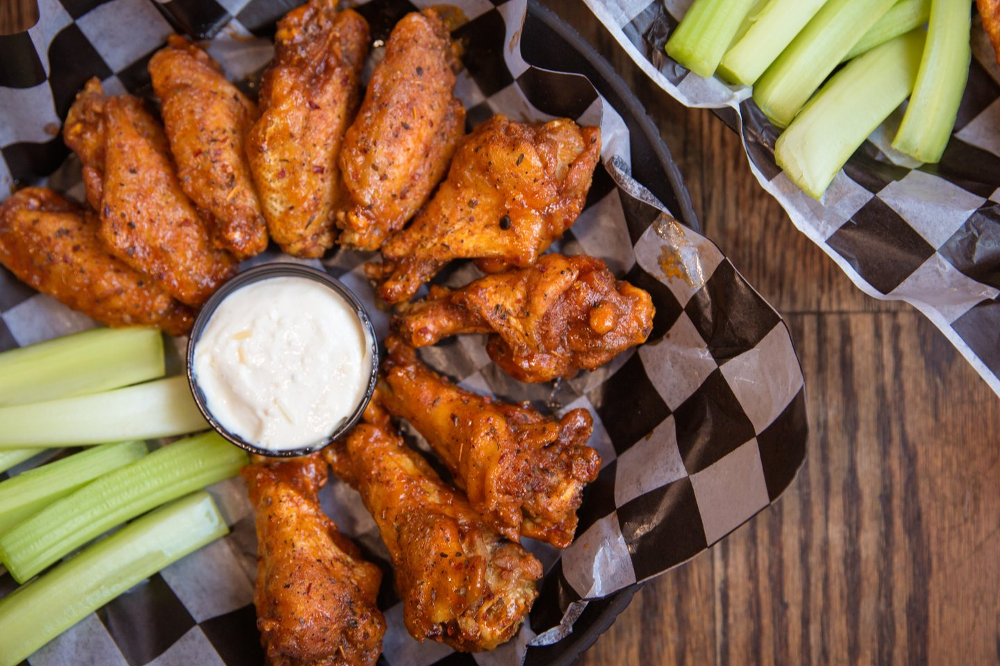 Cajun Honey Butter BBQ Wings