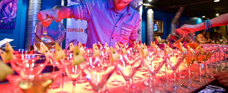 tequila dinner drinks crafted by luke detraz