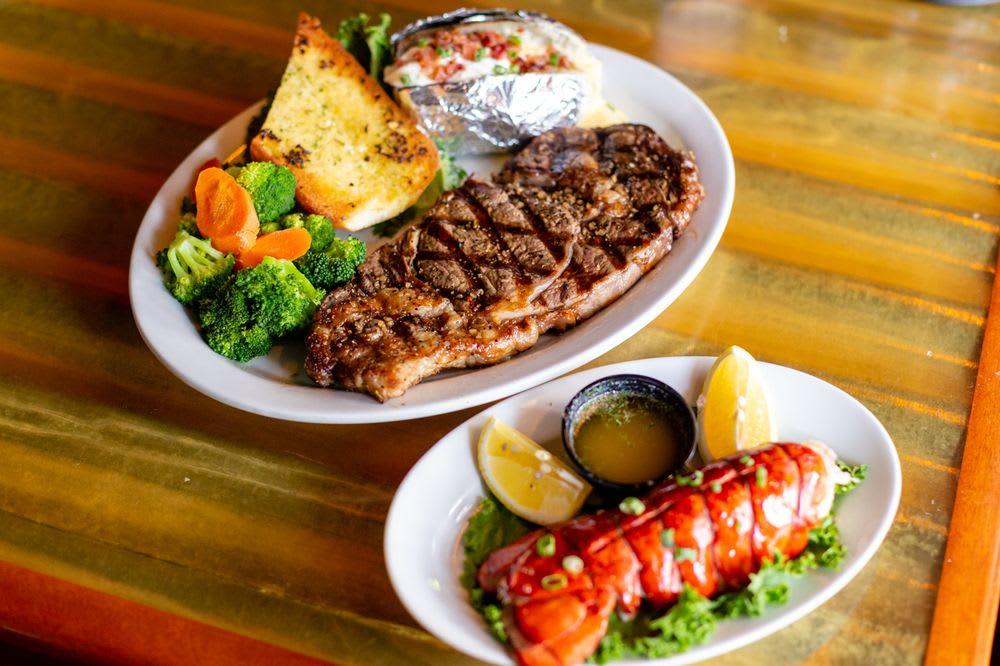 Steak Dinner at Ozzie's