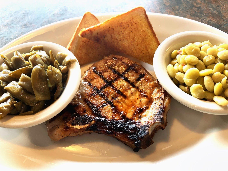 country steak dinner