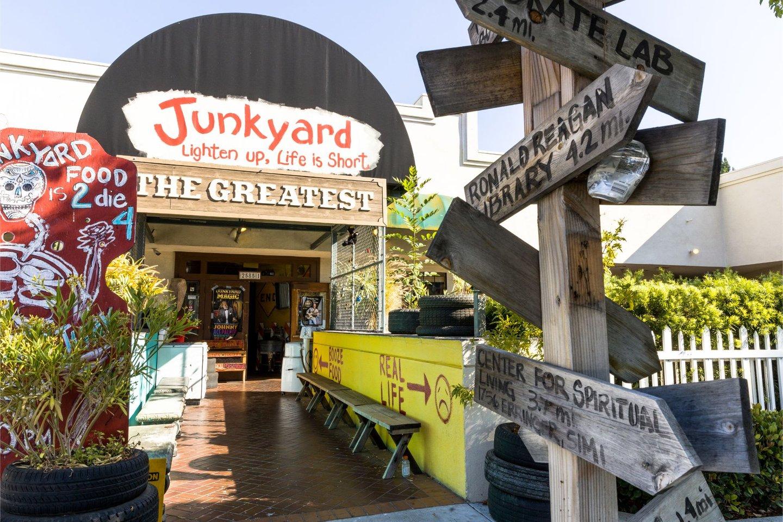 Junkyard exterior