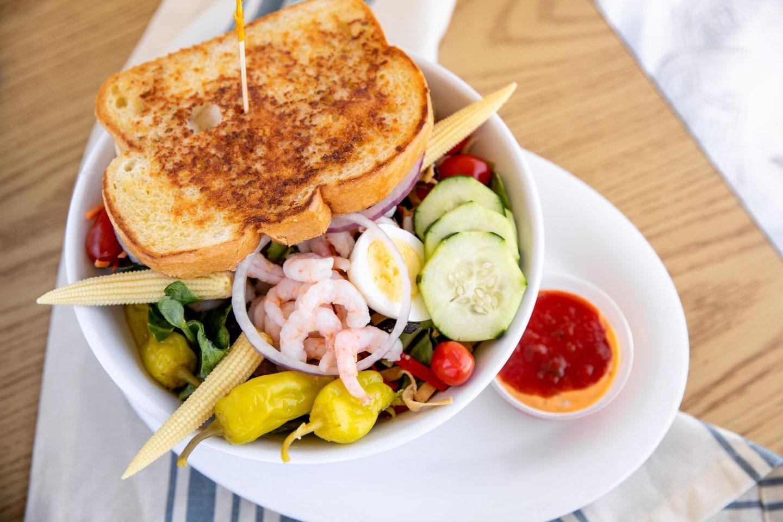 half louis salad