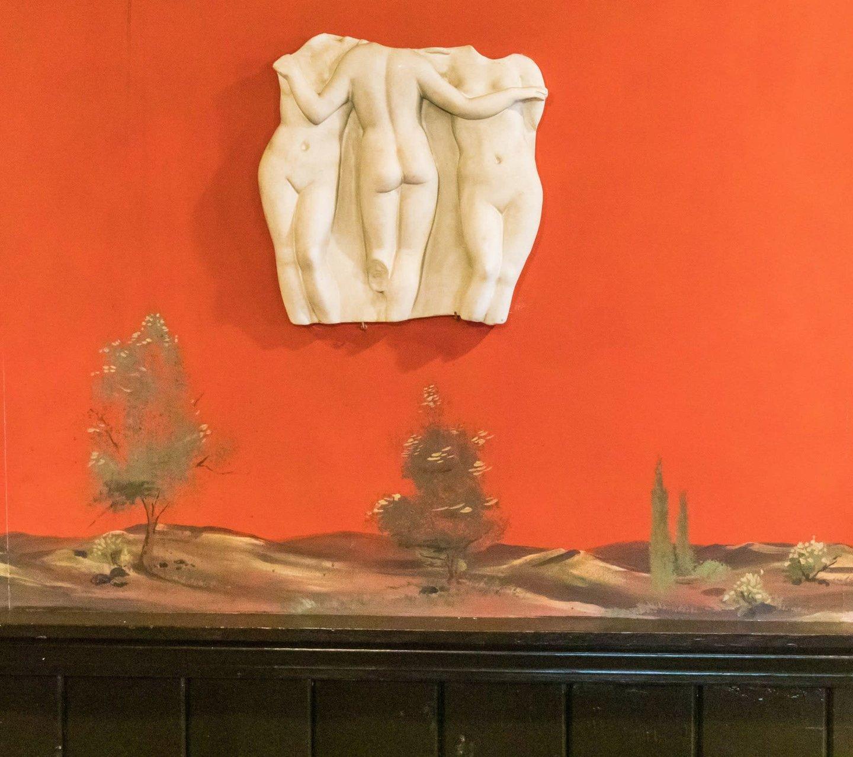 interior sculpture art