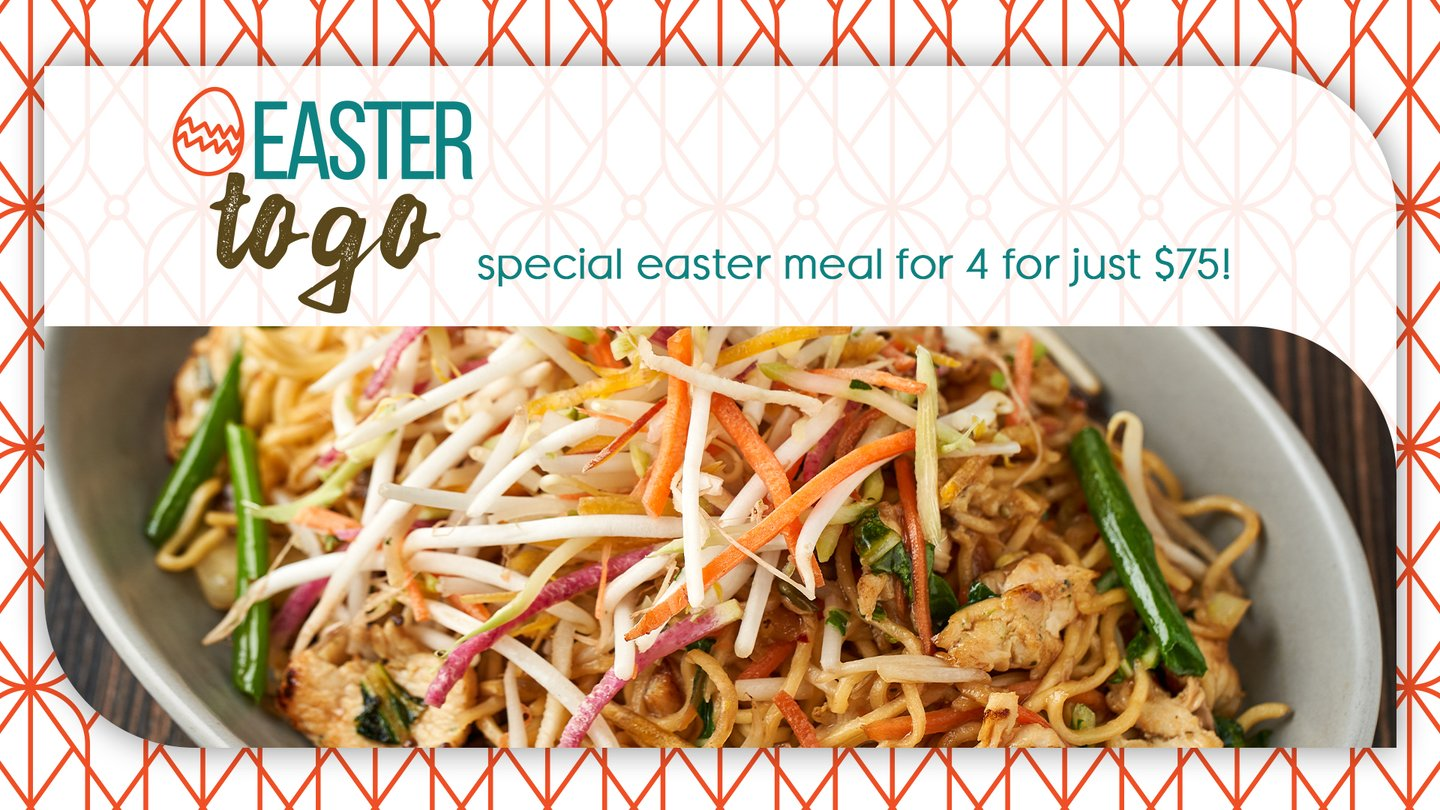 Easter To Go - Meal for 4 for $75