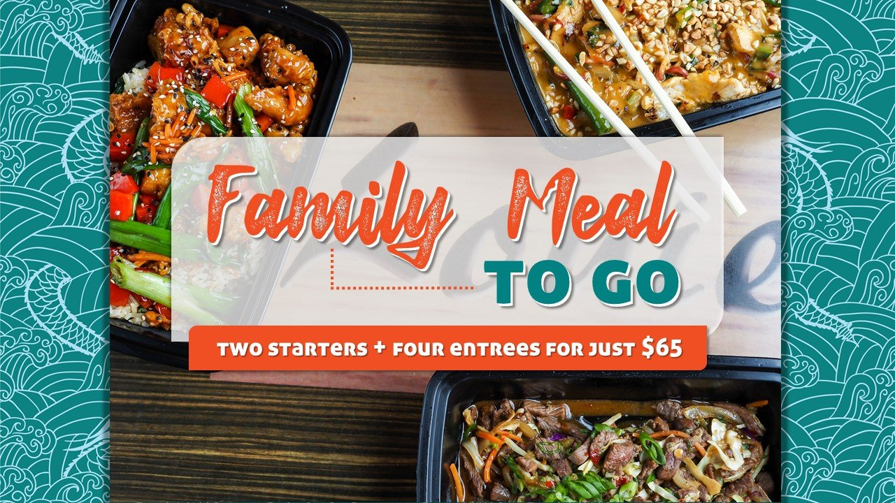 Family Meal To Go for $65