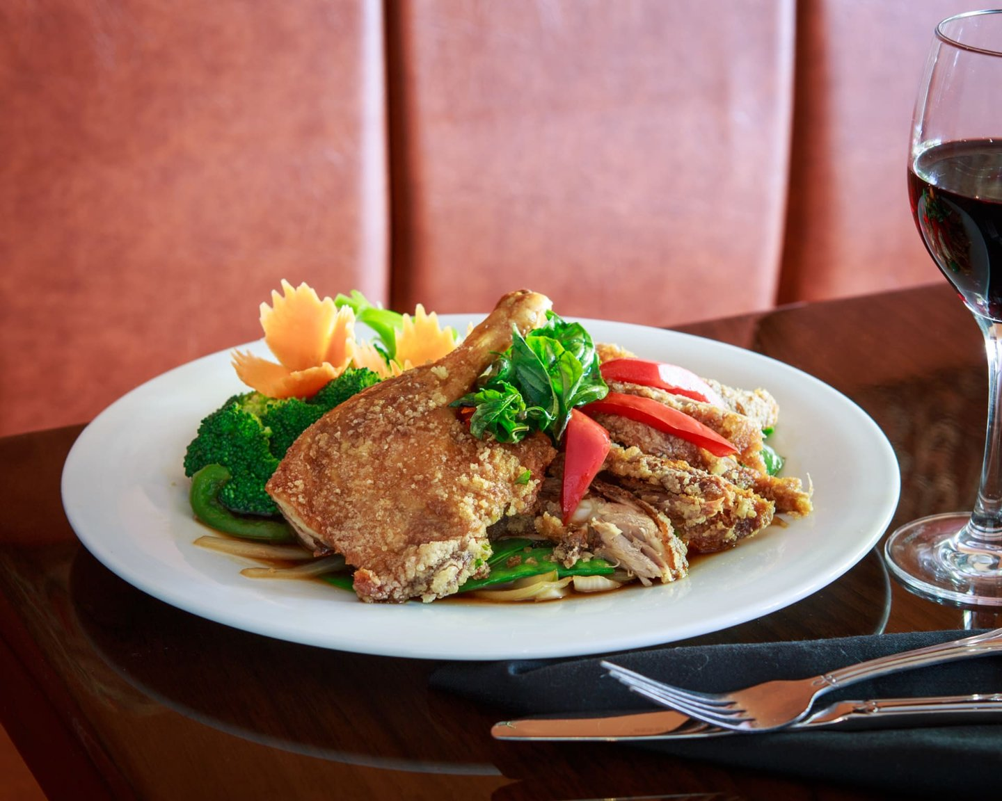 FRESH INGREDIENTS + AUTHENTIC KITCHEN = REALLY AWESOME THAI FOOD