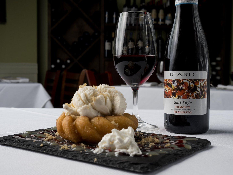 dessert and wine