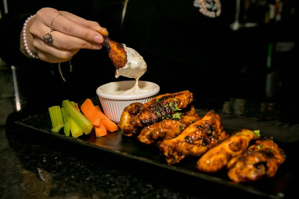 New England's Tap House Grille wings