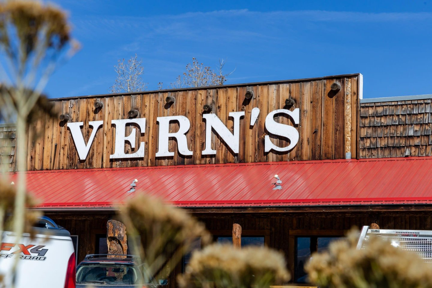 Vern's Place Exterior Signage