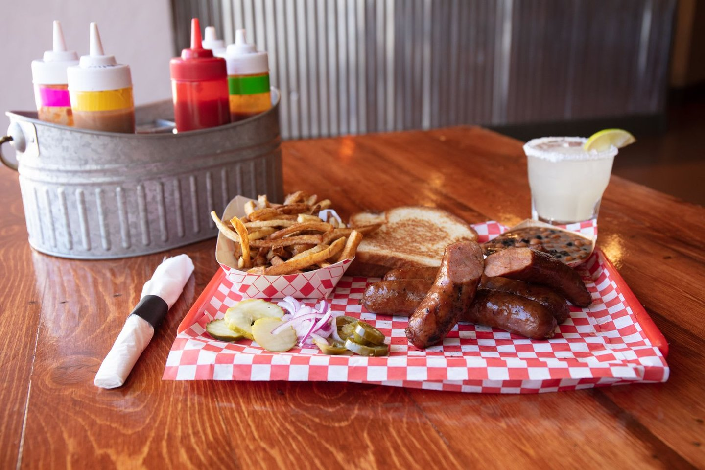 Andouille Sausage Plate