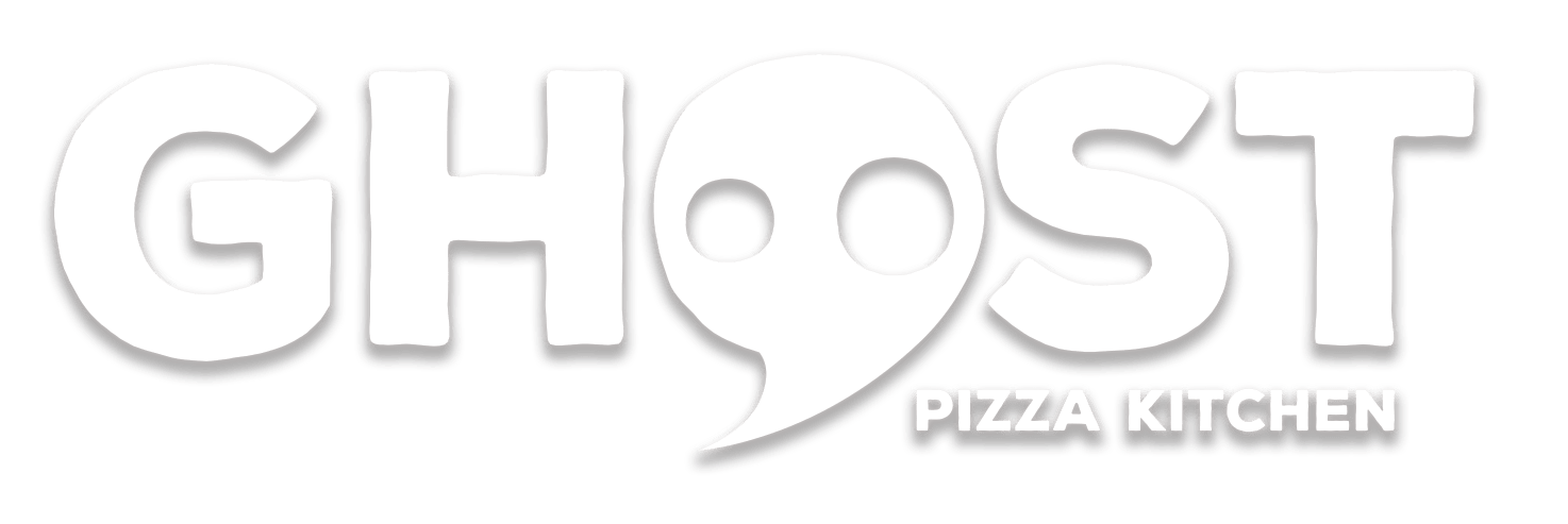 ghost pizza kitchen logo