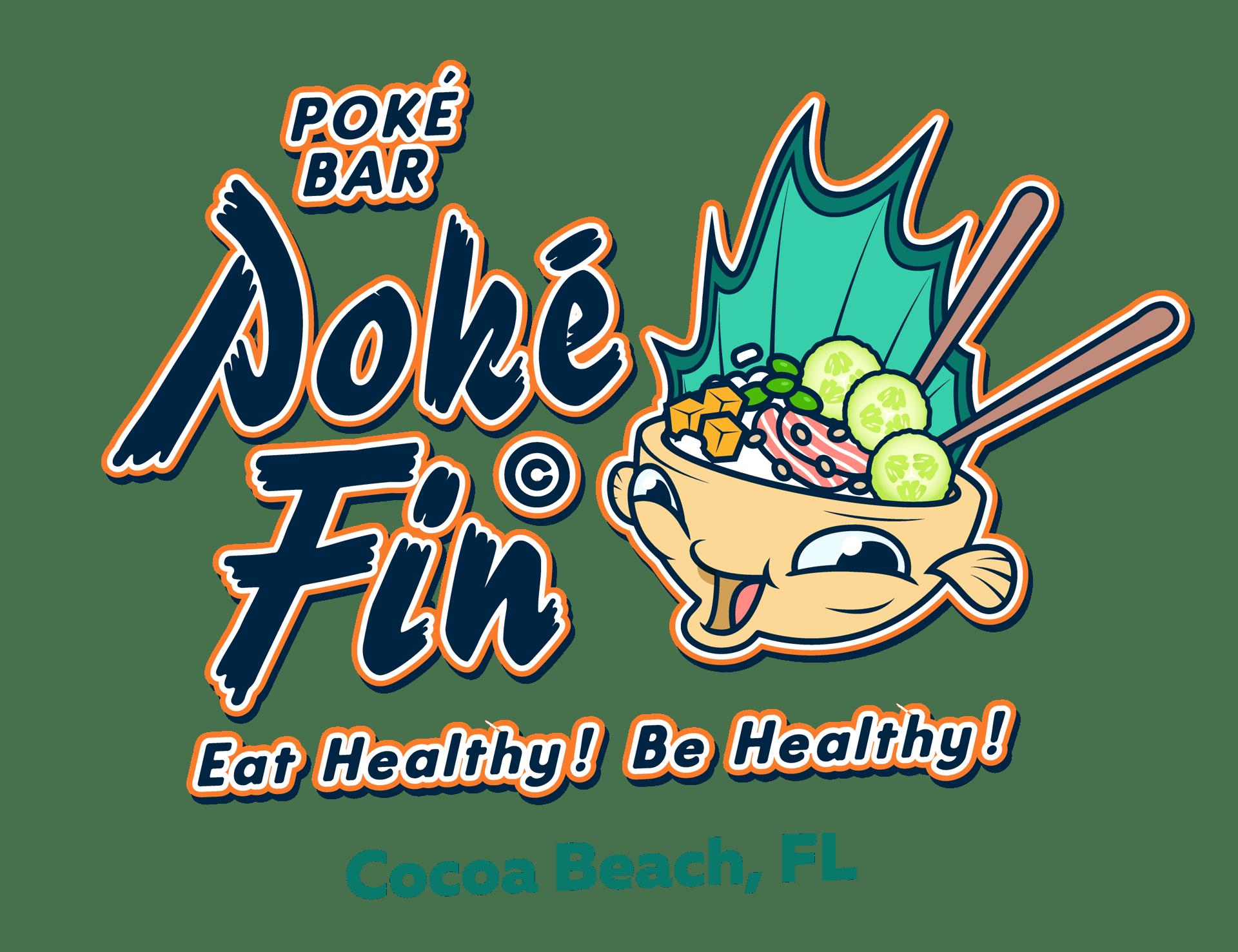 Poke Fin logo