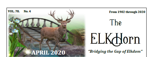 picture of the Elks 794 monthly newsletter head.