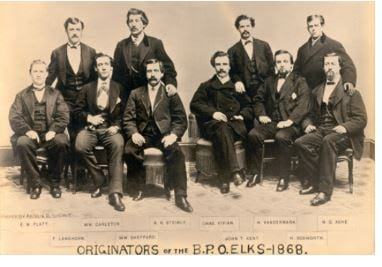 Original Elk Members picture 1868