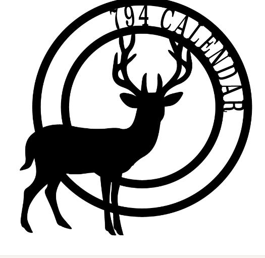 Elk logo calendar