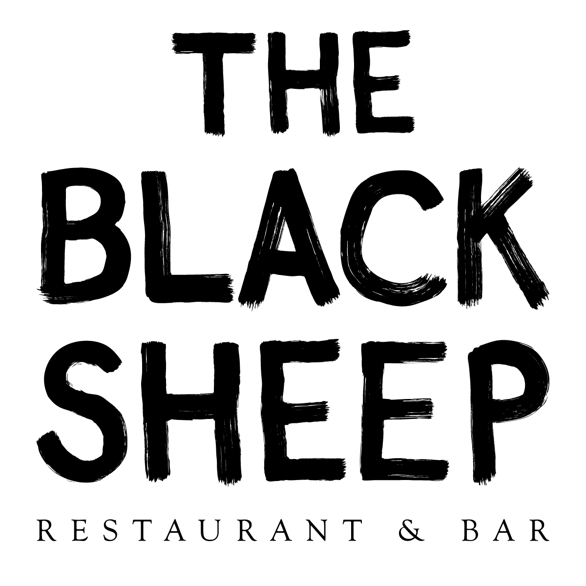 the black sheep restaurant and bar logo