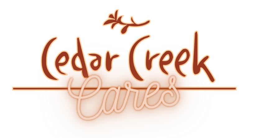 Cedar Creek CARES Program Logo