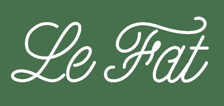 Le Fat logo cursive