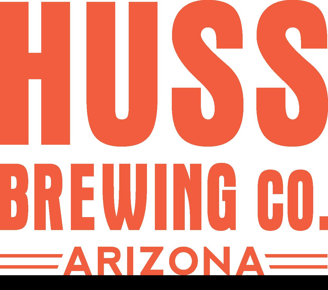 huss brewing co. arizona logo