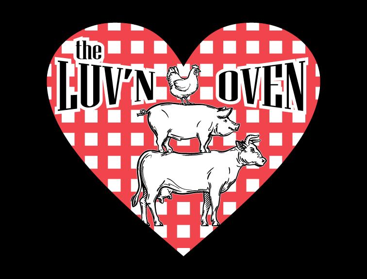 Luv'n Oven Logo
