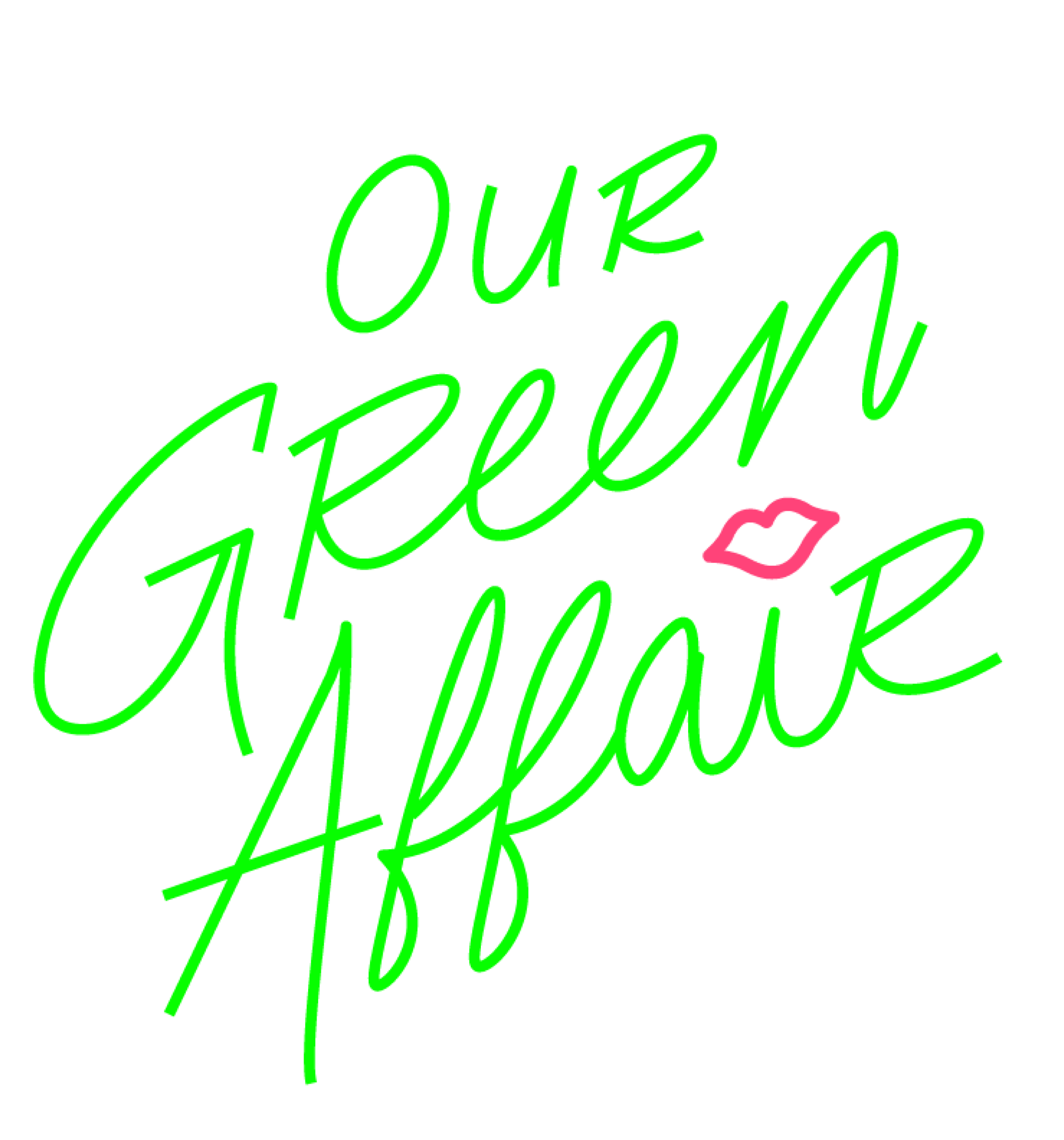our Green Affair logo