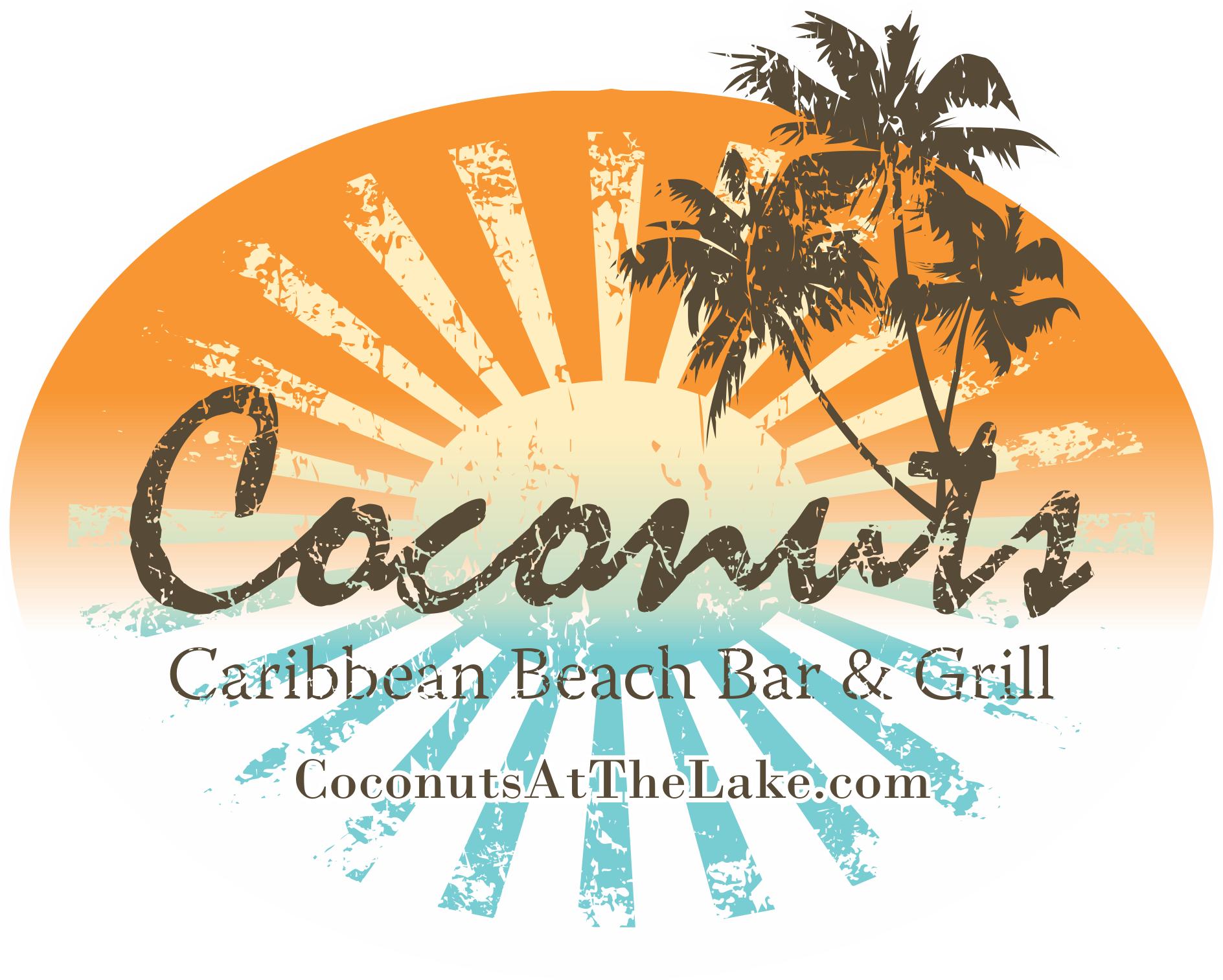 Coconuts at the lake logo