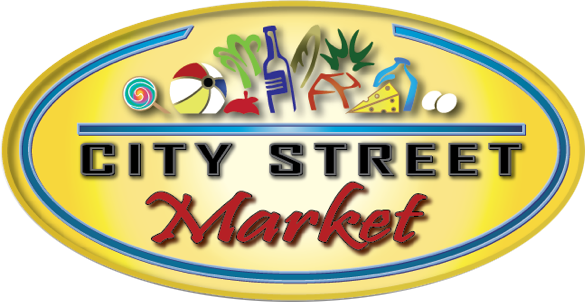 city street market logo