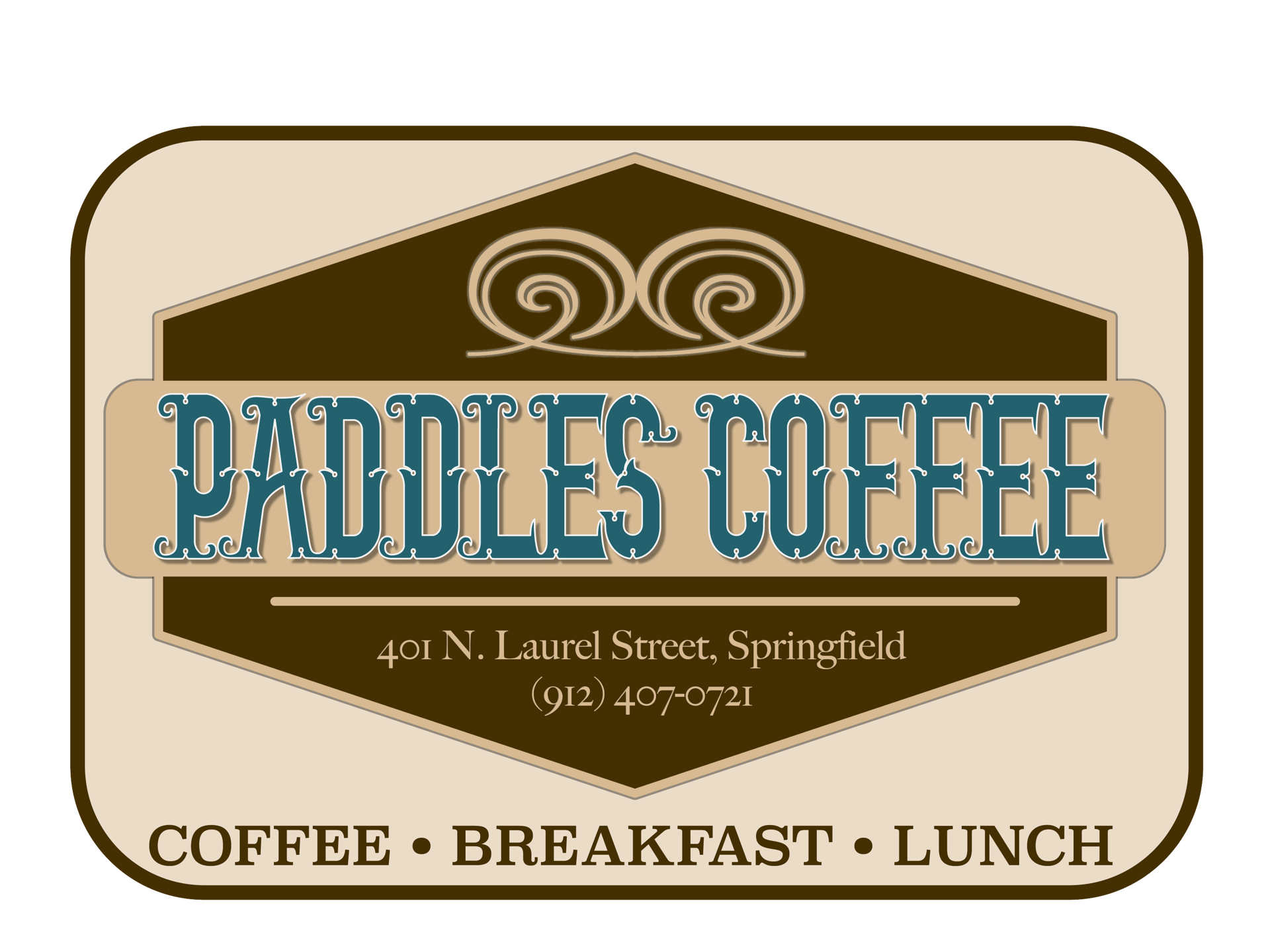 paddles coffee logo