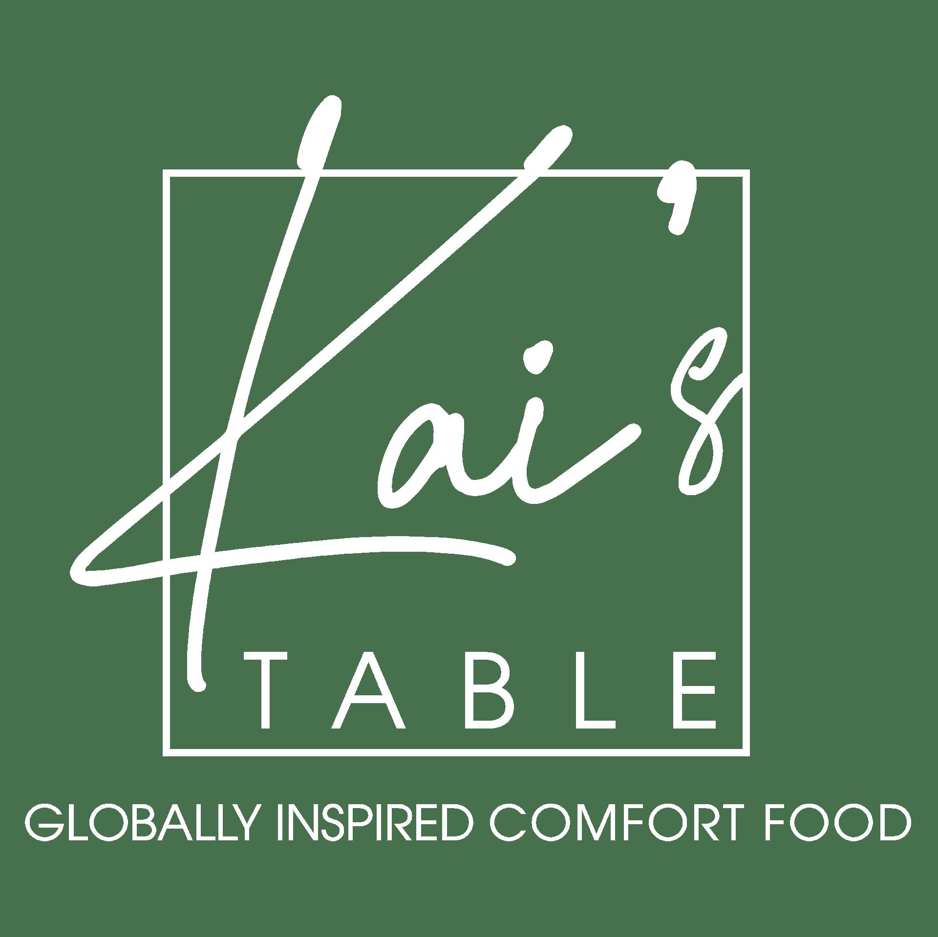 Kai's Table Globally Inspired Comfort Food
