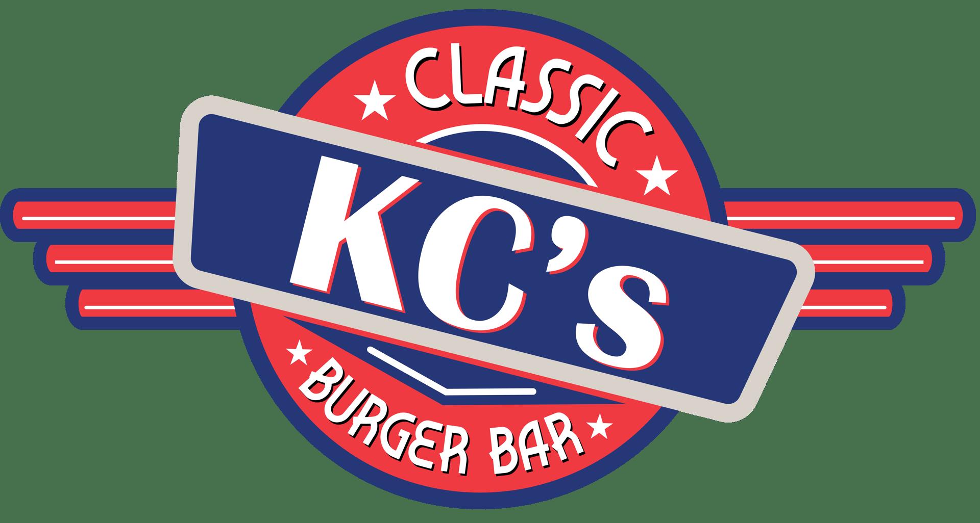 KC's classic burger bar logo