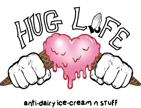 Hug Life anti-dairy ice-cream n stuff
