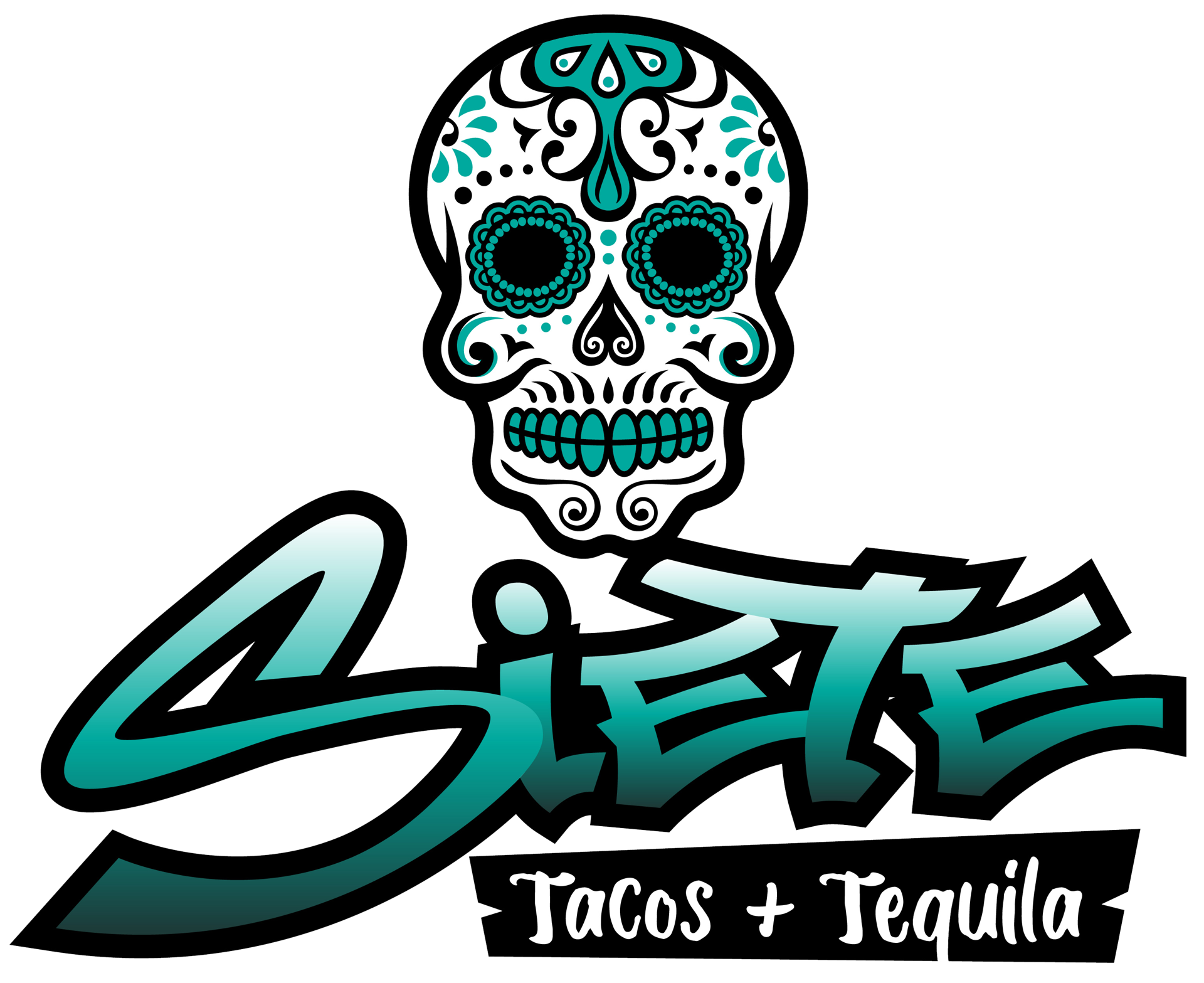 siete tacos and tequila logo