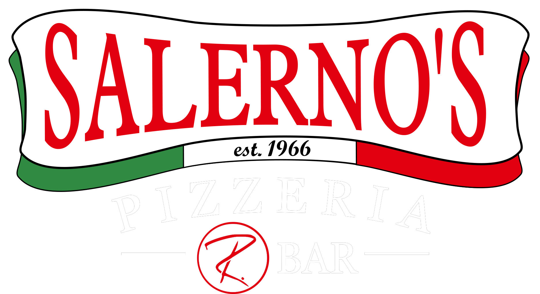 Salerno's pizzeria and r. bar logo