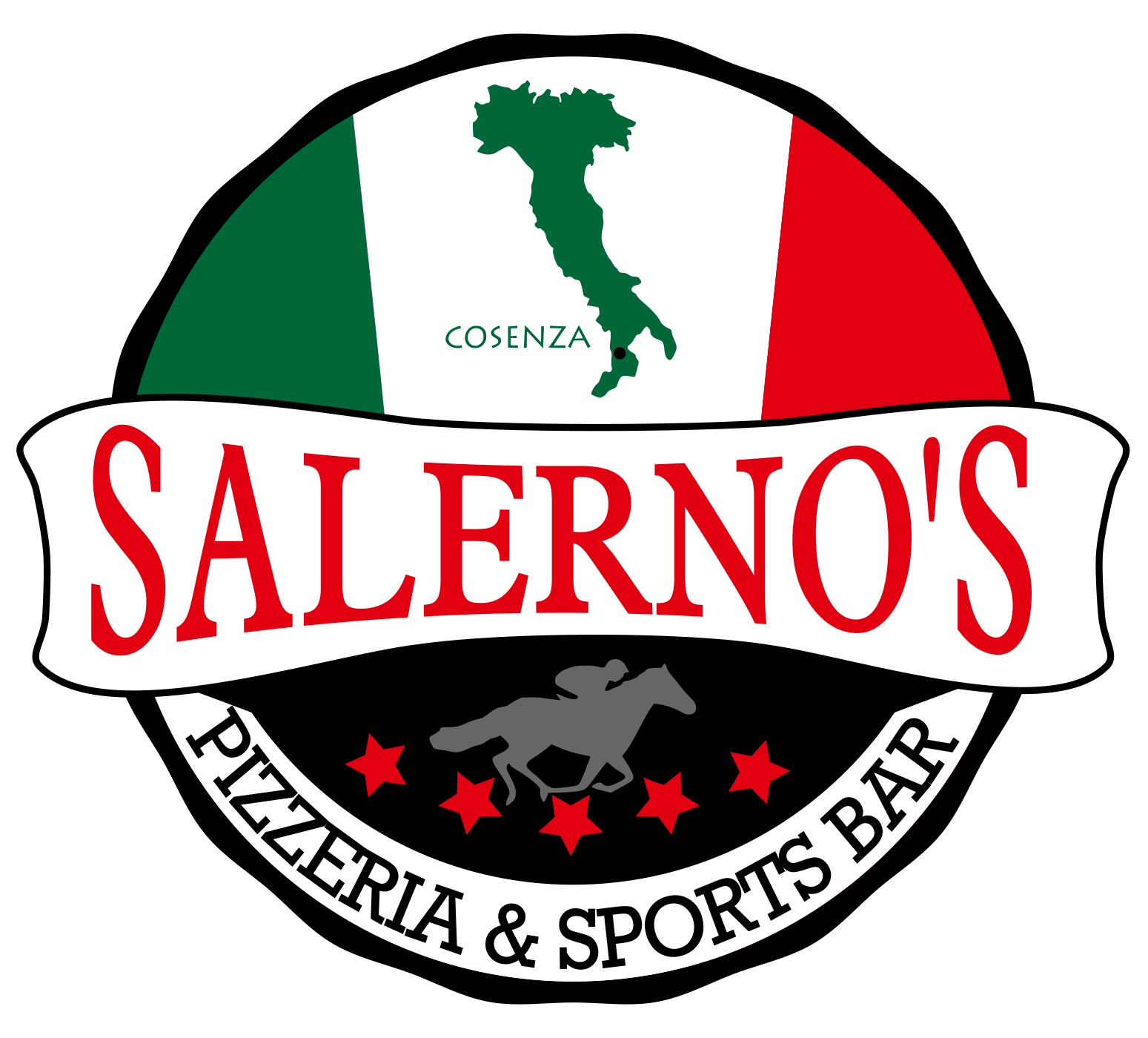 salerno's pizzeria and sports bar logo