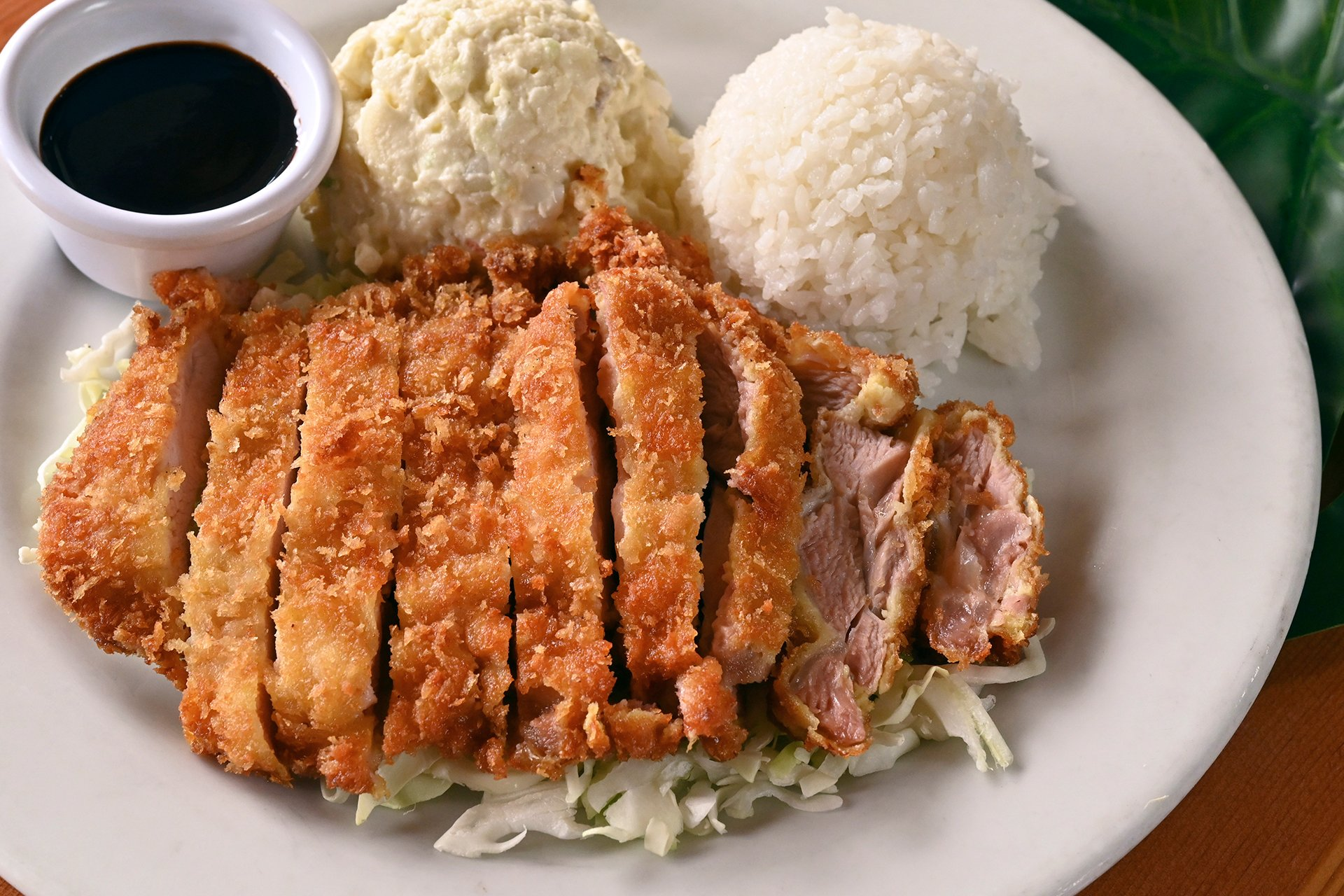 Chicken Katsu Plate Lunch Dinner King S Hawaiian Bakery And Restaurant Hawaiian Restaurant In Ca