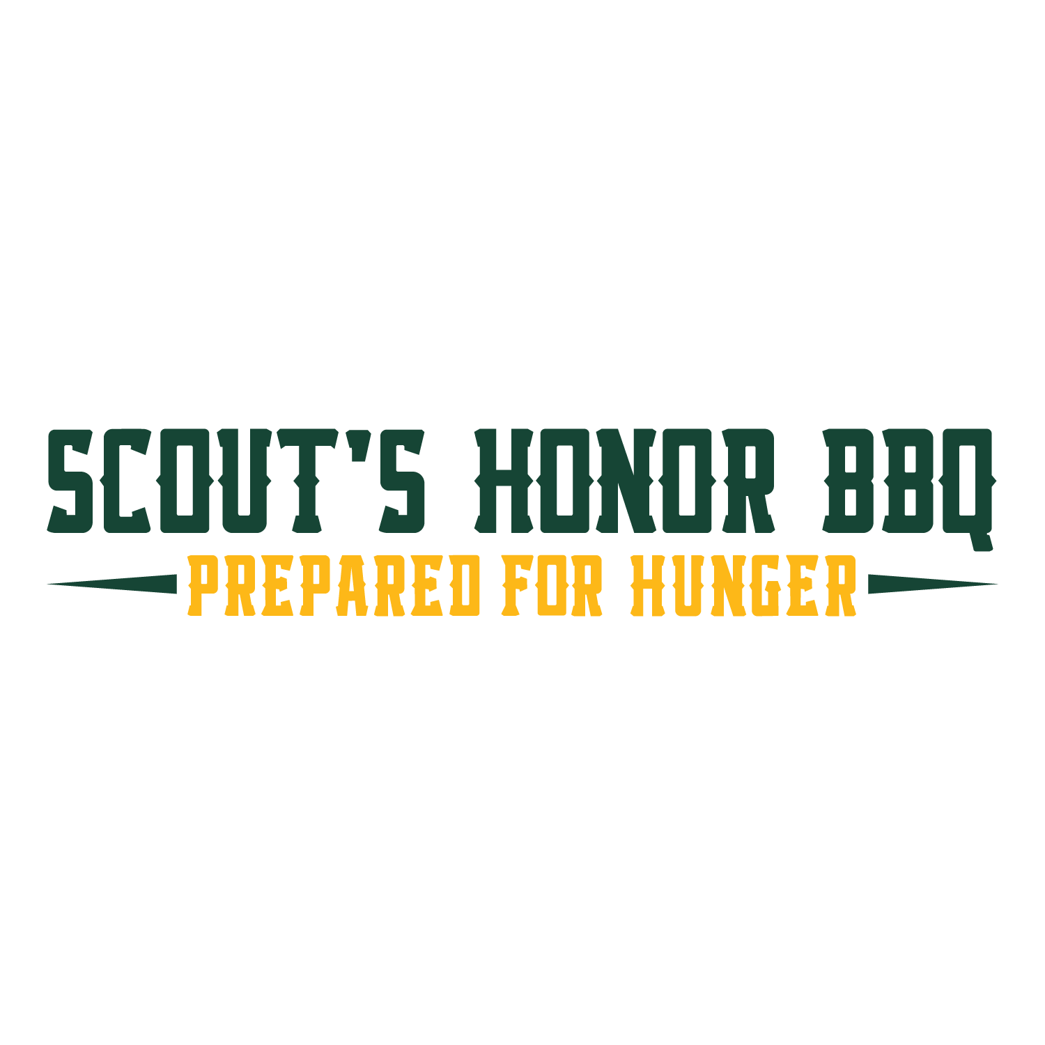 Scout's Honor BBQ Logo
