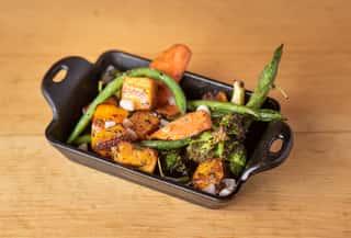 Roasted Vegetables Dinner The Still Whiskey Steaks Restaurant In Fort Collins Co