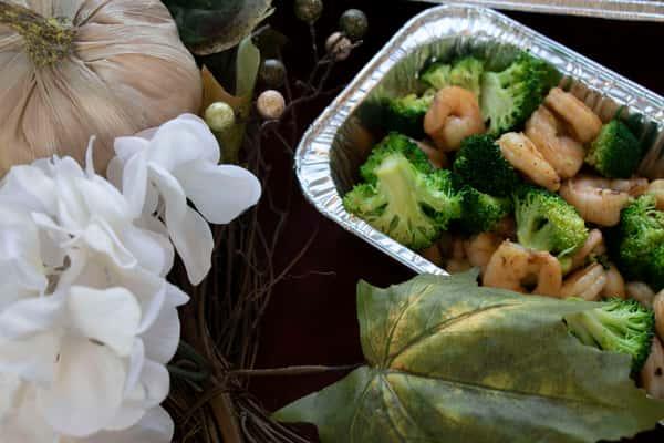 Hibachi Shrimp Entree