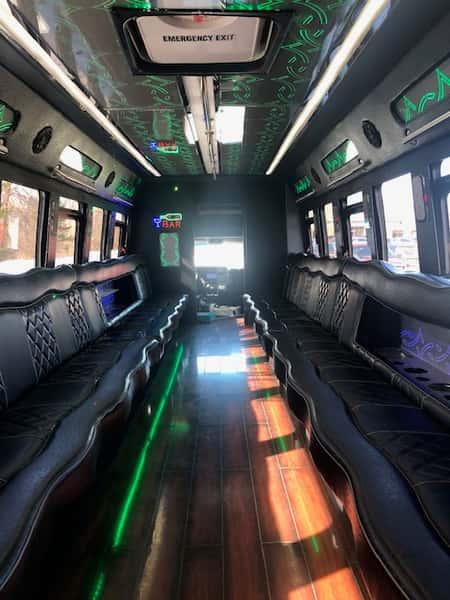 Black bus inter