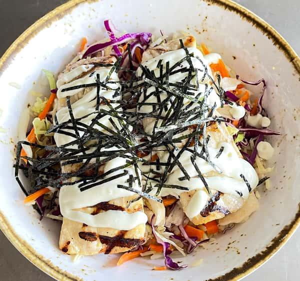 Grilled Mahi Mahi On Jasmine Rice