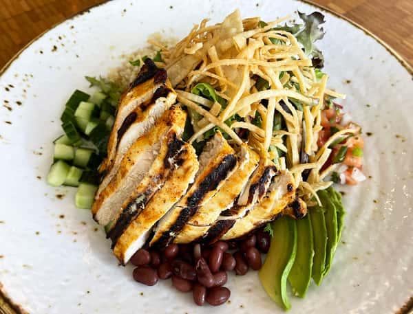 Chicken Quinoa Taco Salad