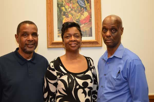 Chef Dallas, Patricia, and Chef Ray